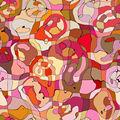se extendía la pintura abstracta sobre lienzo