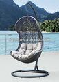 Pátio mobiliário cadeira de suspensão / cadeira balanço / rattan rede