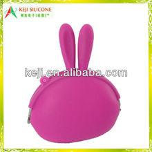 Big Size Rabbit Purse Silicone
