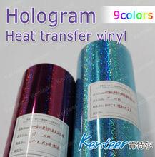 Hologram Vinyl Heat Transfer for Advertising T-shirt