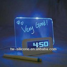 2015 Calendar LED Digital Clock Desktop Alarm Clock