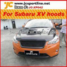 Car hoods carbon engine cover for Subaru XV carbon fiber front engine hoods