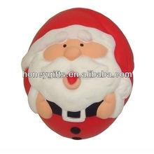 Promotional santa claus ball soft pu stress ball/Wholesale PU Foam Rugby Ball/Promotional Picnic Basket