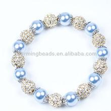 CH-LST0254 Handmade bracelets friendship,crystal ball bracelet