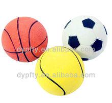 Rubber mini basketball
