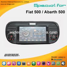 dvd fiat 500 windows8 system 6.2 inch single din bt tv ipod blue&me canbus