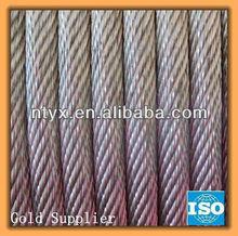 Steel cable reel, measures 19x7-10.00mm