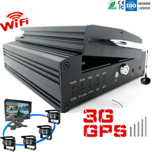 Dual streams for local recording and wireless transmission 3g video car camera alarm system