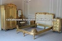 Indonesia Furniture-Yorkshire Gilded Bedroom Furniture