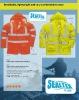 Sealtex HiVis Rainwear Waterproof Breathable Jacket