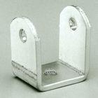 custom aluminum u shaped metal bracket