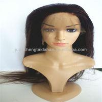 top grade unprocessed 5a human virgin peruvian full lace wig