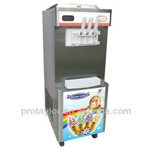 High production, stainless steel Ice cream machine ICM-T338