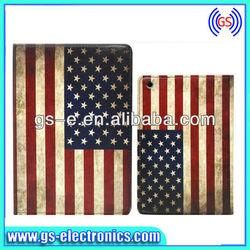 2013 Newest Retro Union Jack United Kingdom UK Flag Pattern Leather Case Retro Vintage Old Looking USA Flag Case for ipad 2 3 4