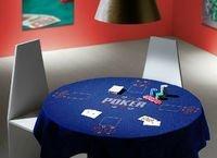 Mini Poker Table Cloth BLUE