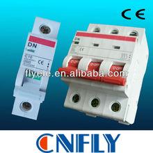 three phase mcb C63 Mini Circuit Breaker/mcb