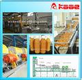 proyecto llave en mano profesional industrial de jugo de naranja de maquinaria de producción