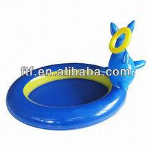 0.8m Dia Interesting cartoon PVC inflat swim pool for kids
