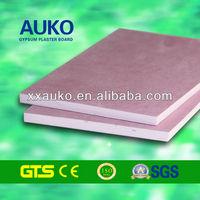 Fireproof Pink Gypsum Drywall With Light-gauge Steel Framing