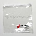Clearsmall plastic pvc zipper bag
