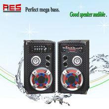 2012 hotest sell of high quality usb wooden mini speaker