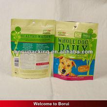 pet food zipper pouch/plastic stand up pouches/pets pouch