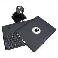 360 Degree Swivel Stand Case + Bluetooth Keyboard for iPad 4 3 2 w/ Stylus/Film