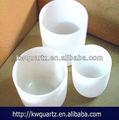 sílice fundido filtro de cuarzo crisol de china manufactuer