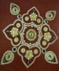 Latest Acrylic Rangolis