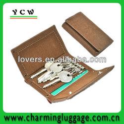 promotion thin credit card holder wirh key string