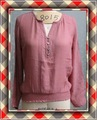 la moda de las señoras blusa de manga larga diseños