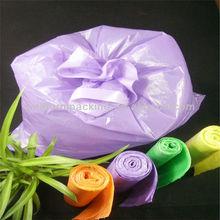 plastic pe waste bags dog poop waste bag, refuse sacks, trash bin liners