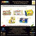 Durável caixa de embalagem de manteiga e margarina& 3