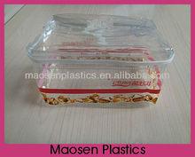 New design PVC case 2013 hot fashion zipper cosmetic bag Promotional PVC case
