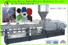Jiangsu Nanjing KAIYOU HKY-65 Parallel Co-rotating Twin Screw Plastic Granulator/Extruder