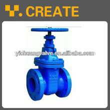 DIN rising stem ci gate valve