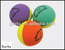 60mm hollow rubber super bounce balls