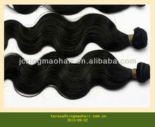Black Color Wavy Hair Wholesale Russian Hair