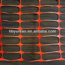 160g HDPE orange safety fencing net for sale