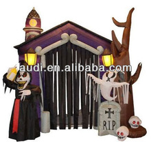 8.5' Halloween Theme Inflatable Haunted House