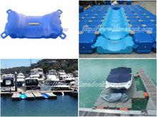 plastic hdpe floating pontoon marina