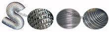 hydroponic flexible aluminium ducting/pipe /steel pipe