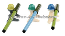 People shape plastic stand promotion ball pen
