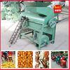 Diesel engine corn skin remover and sheller small corn sheller equipment