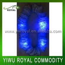 Party Celebration Light Flashing Flower LED Hawaiian Leis