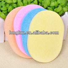 Naturale algamarina lavaggio cotone/cotone lavaggio una pulizia del viso spugna/algamarina za-022 cotone