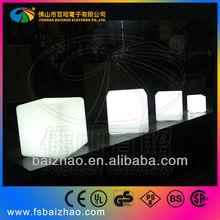 3d cube led waterproof light
