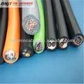 flexible de cobre del cable de soldadura