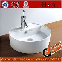 HY4002 Deep hand wash bathroom ceramic garden basin