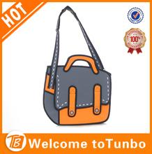 New products 2D cartoon bag 3D designer mk handbag ladies